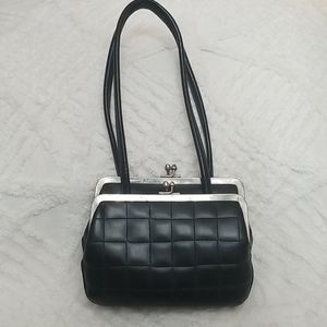Vntg: Unique Triple Hand Bag